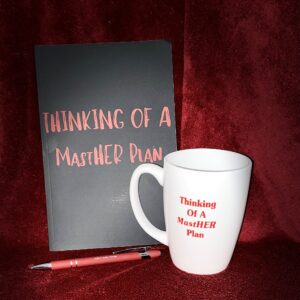 Thinking of a MastHER Plan Journal & Coffee Mug Bundle